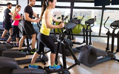 The best time to exercise on a treadmill and an elliptical trainer
