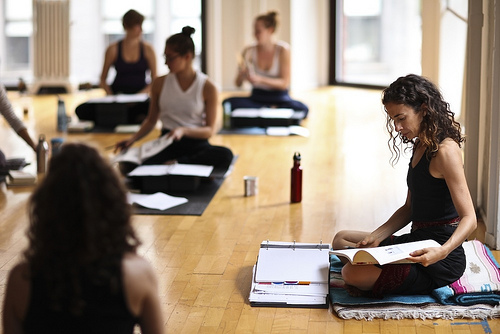 yoga teacher-training course