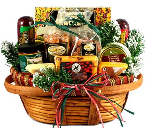 Great Healthy Food Basket Ideas for Giving Out to Co-Workers