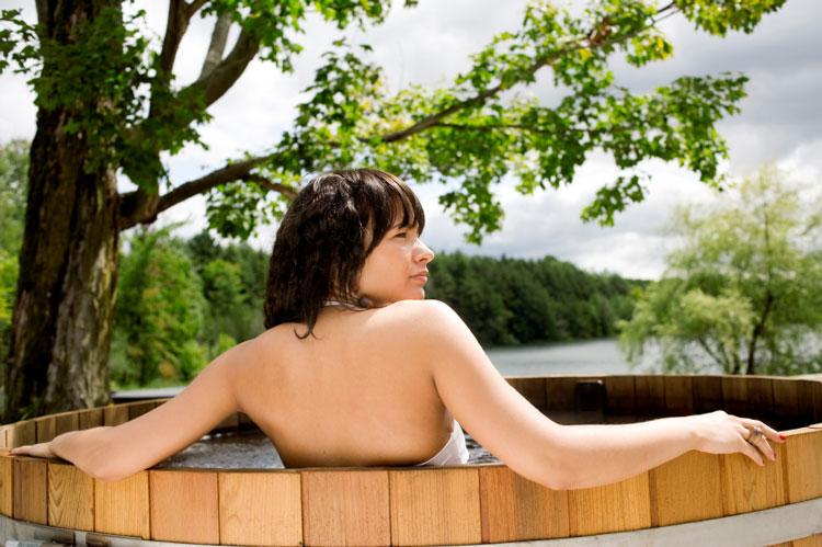 Using A Hot Tub
