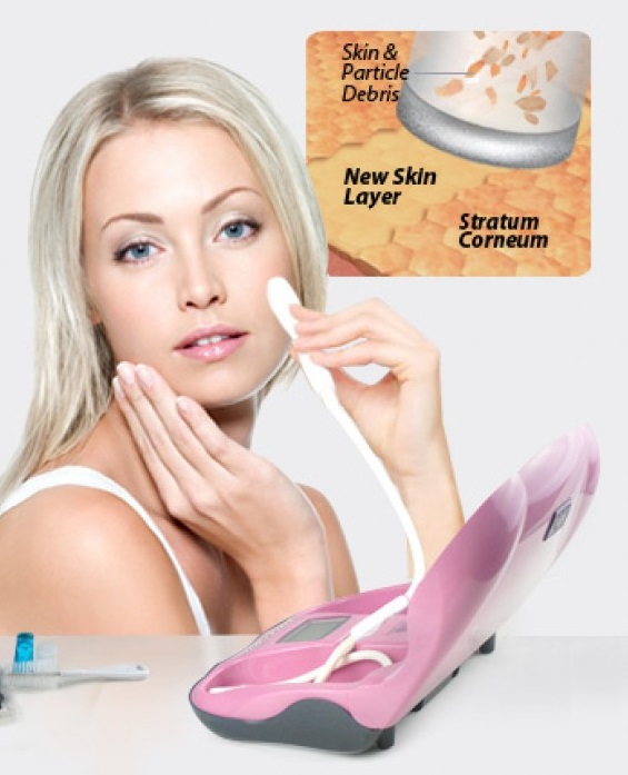 home microdermabrasion system